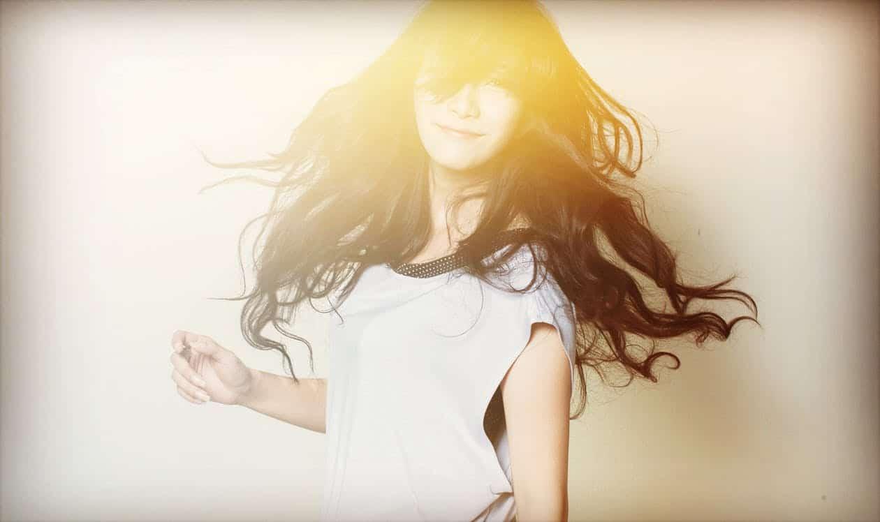 beaux cheveux femme