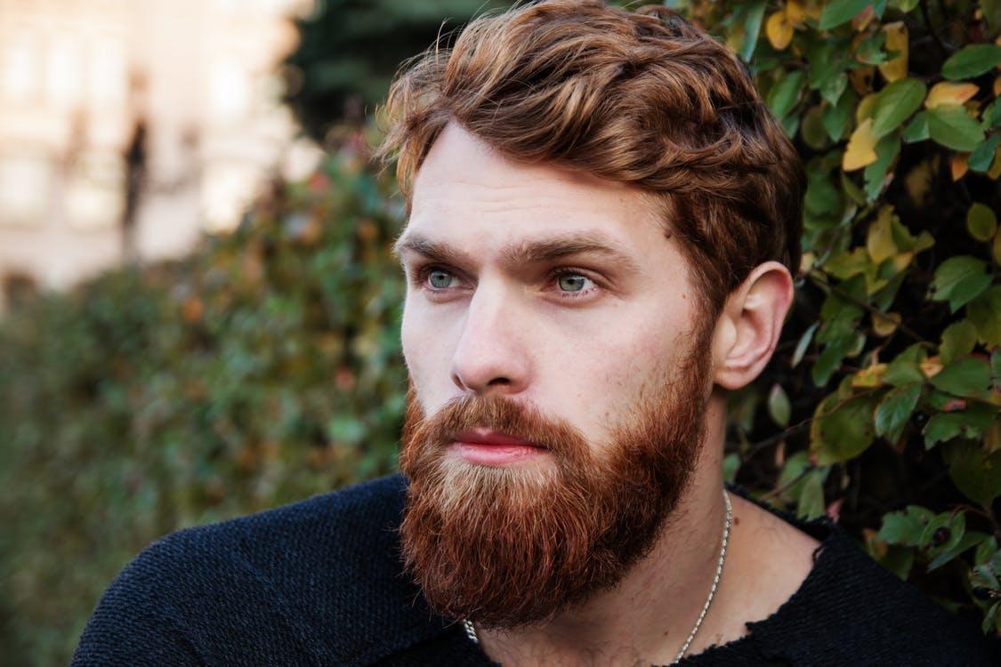 beaux cheveux homme